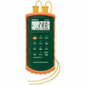 Thermometer - Type J/K, Dual Input with Alarm