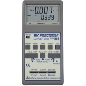 LCR/ESR Meter - Synthesized In-Circuit to (100kHz)