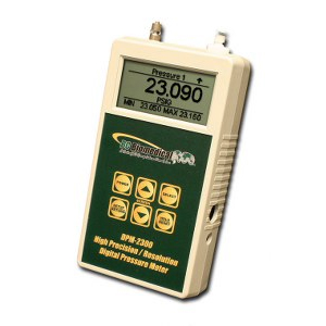 Digital Press/Vac Meter - Dual Range Optional - +/-0.05% Full Scale - 5 1/2 Digit Display