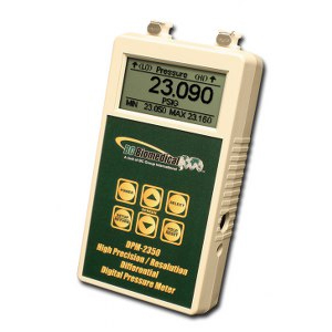 Digital Press/Vac Meter - Differential for Anesthesia - +/-0.05% Full Scale - 5 1/2 Digit Display
