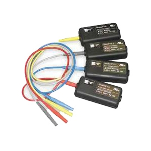 4 Pk Fused Voltage Clips; UL listed